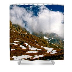 Dolomites 2 Shower Curtain
