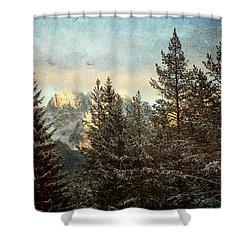 Dolomiti Shower Curtain