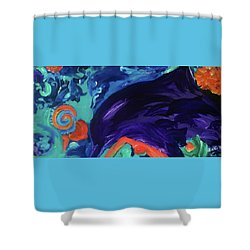Dolphin Dreams Shower Curtain