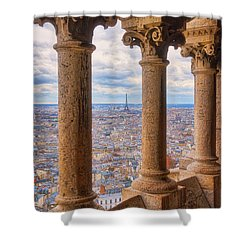 Shower Curtain featuring the photograph Dome Views by Darren White
