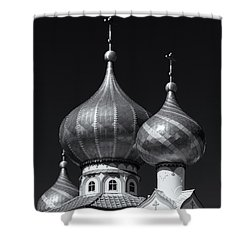 Domes Shower Curtain