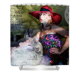 Domestic Considerations Kronos' Daughter Shower Curtain