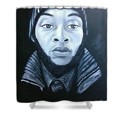 Dominic Shower Curtain by Jenny Pickens