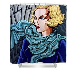 Dominique Shower Curtain by Tara Hutton