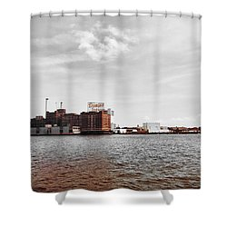 Domino Sugar Shower Curtain