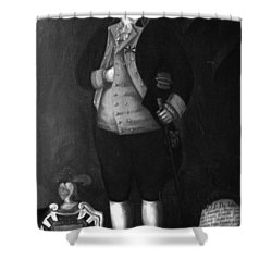 Don Andres Almonester Y Rojas Shower Curtain