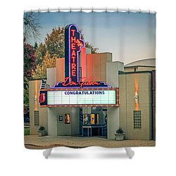 Shower Curtain featuring the photograph Don Gibson Theatre by Marion Johnson
