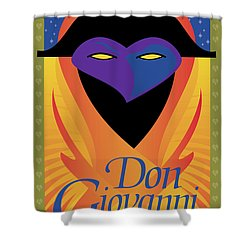 Don Giovanni Shower Curtain