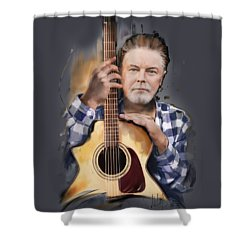 Don Henley Shower Curtain