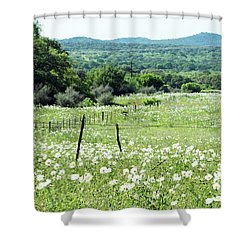 Shower Curtain featuring the photograph Done In White by Joe Jake Pratt