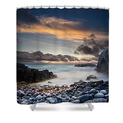 Donegal Sunset 5 Shower Curtain