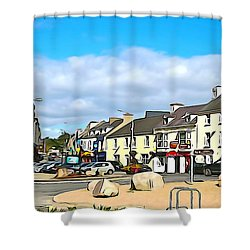 Donegal Town Shower Curtain