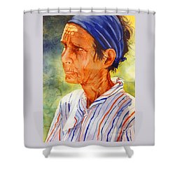 Donna Maria Shower Curtain by Estela Robles