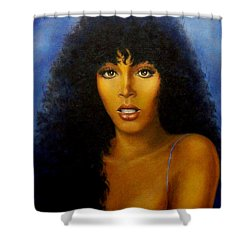 Donna Summers Shower Curtain