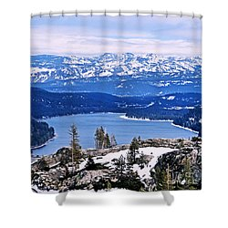 Donner Lake Shower Curtain