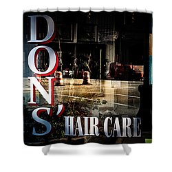 Don's Reflections  Shower Curtain by Phillip Burrow
