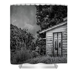 Don't Come Knockin' Shower Curtain by Wallaroo Images