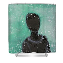 Don't Forget The Original Intention. Shower Curtain