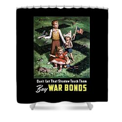 Don't Let That Shadow Touch Them Shower Curtain by War Is Hell Store