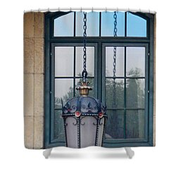 Don't Look Back Shower Curtain