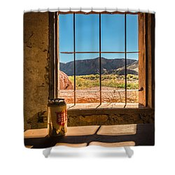 Shower Curtain featuring the photograph Don't Mess With Texas by Allen Biedrzycki
