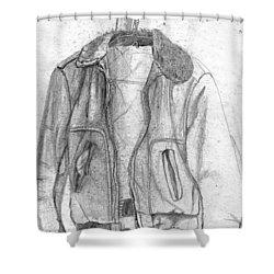 Holdens Jacket Shower Curtain