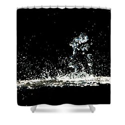 Don't Threaten Me With Love. Shower Curtain by Bob Orsillo