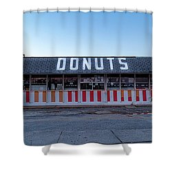 Donut Shop No Longer 3, Niceville, Florida Shower Curtain