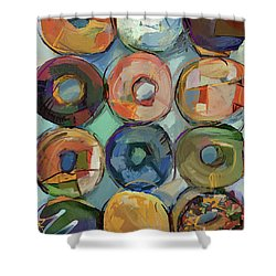 Donuts Galore Shower Curtain