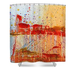 Doobie Brothers Shower Curtain by Phil Strang