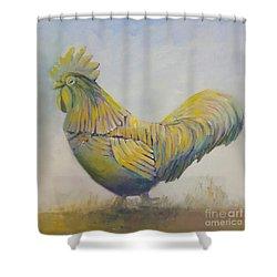 Doodle Doo Shower Curtain