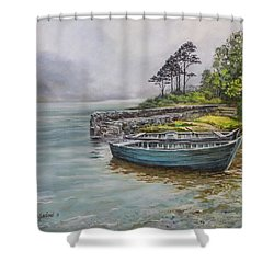Doolough View Shower Curtain by Marty Garland