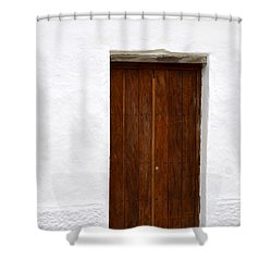 Door # 7 Shower Curtain