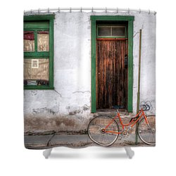 Door 345 Shower Curtain