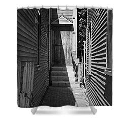 Door In An Alley Shower Curtain