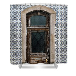 Shower Curtain featuring the photograph Door No 151 by Marco Oliveira