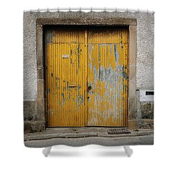 Shower Curtain featuring the photograph Door No 152 by Marco Oliveira