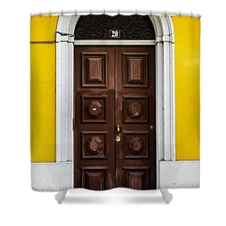 Door No 20 Shower Curtain