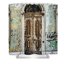 Door No 35 Shower Curtain