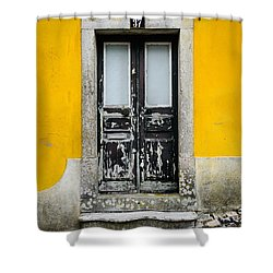 Door No 37 Shower Curtain by Marco Oliveira