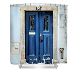 Door No 67 Shower Curtain by Marco Oliveira