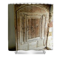 Door To Feudal Times Shower Curtain