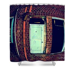 Shower Curtain featuring the photograph Door To Nowhere by Yulia Kazansky