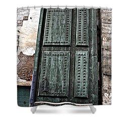 Door To The Roman Gateway Shower Curtain