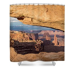 Door To The West Shower Curtain
