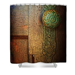 Doorknob Shower Curtain