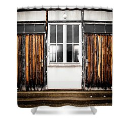 Doors Of Dachau Shower Curtain