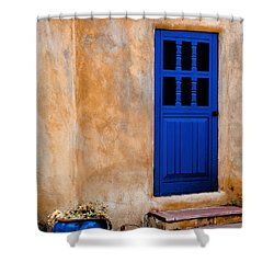 Doors Of Taos Shower Curtain