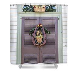 Doors Of Williamsburg 91 Shower Curtain