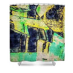 Doors Shower Curtain by William Wyckoff